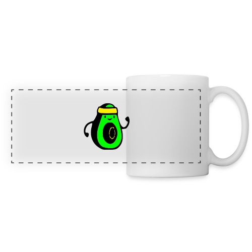 aguacate ninja - Taza panorámica