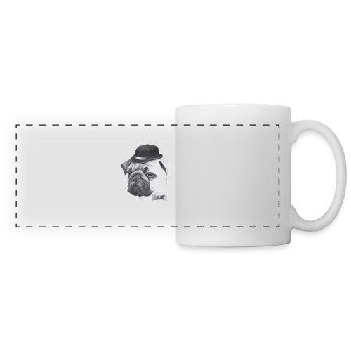 pug with bowler - Panoramakrus