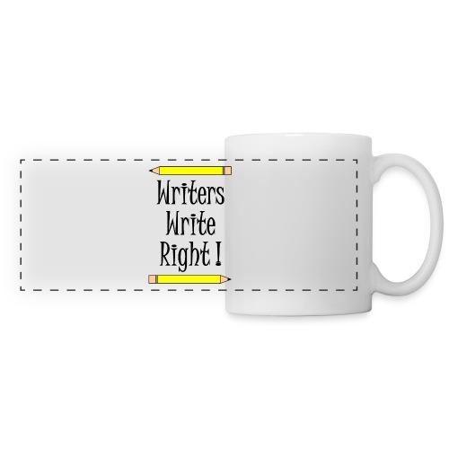 Writers Write Right - Panoramic Mug