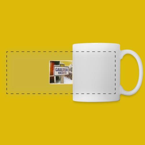 Gogoldorak - Mug panoramique contrasté et blanc