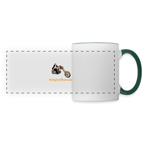 enjoytheride - Mug panoramique contrasté et blanc