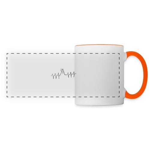 mountain heartbeat - Tazza con vista