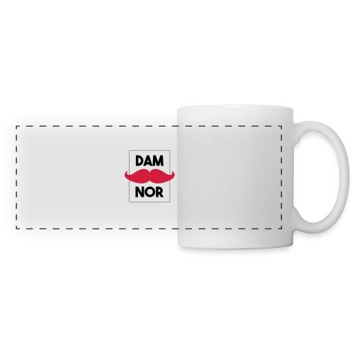 Damnor en Or (H) - Mug panoramique contrasté et blanc