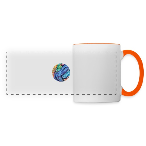 concentric - Panoramic Mug