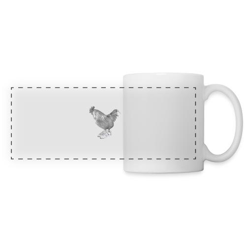 cocorico - Mug panoramique contrasté et blanc