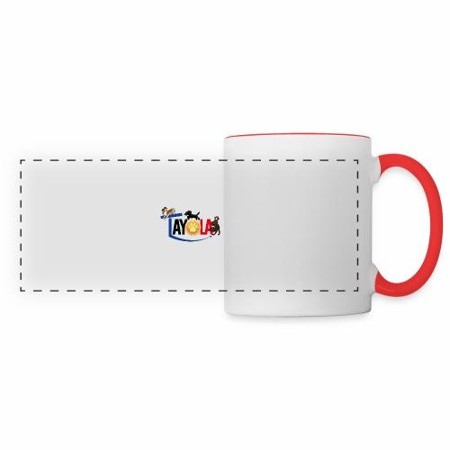 TAYOLA logo 2019 HD - Mug panoramique contrasté et blanc