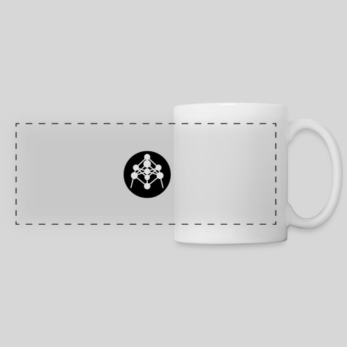Atomium - Mug panoramique contrasté et blanc