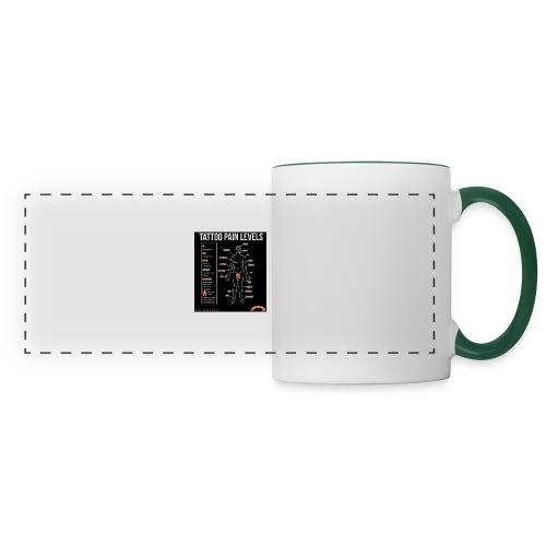 tatoo - Mug panoramique contrasté et blanc