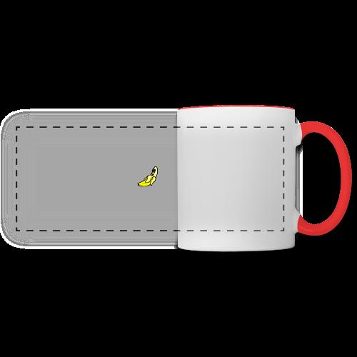 Banana - Mug panoramique contrasté et blanc