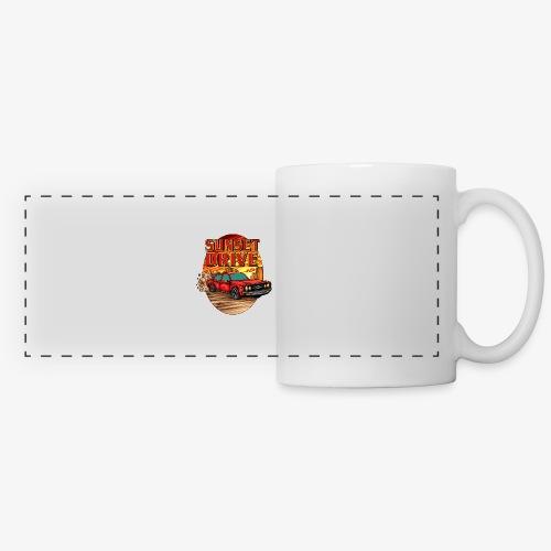 Sunset Drive - Mug panoramique contrasté et blanc