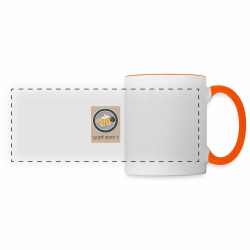 WHY NOT ? (WN) - Mug panoramique contrasté et blanc