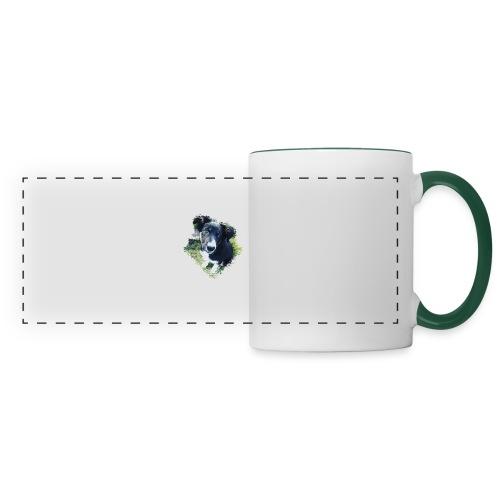 colliegermanshepherdpup - Panoramic Mug