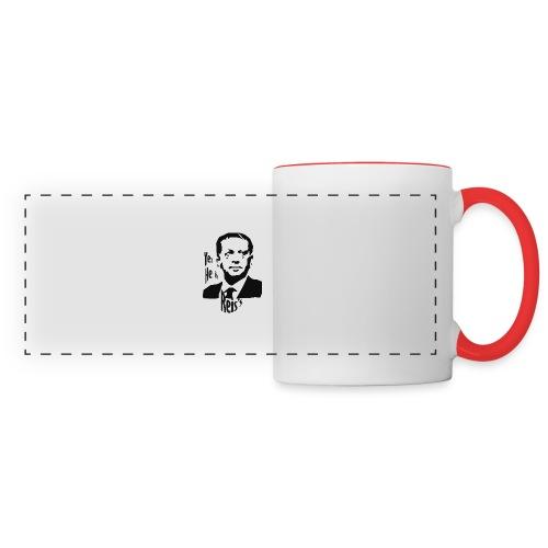 Erdogan - Mug panoramique contrasté et blanc