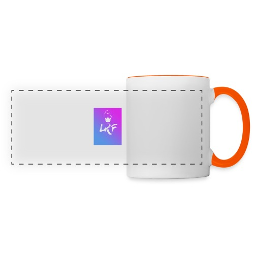 LRF rectangle - Mug panoramique contrasté et blanc