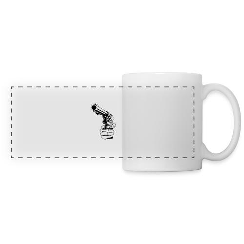 pray for you - Mug panoramique contrasté et blanc