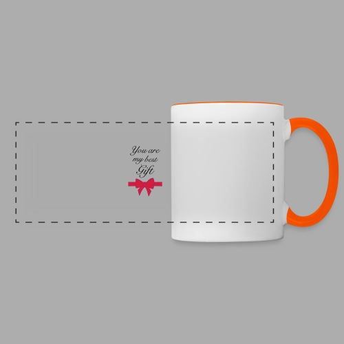 you are my best gift - Panoramic Mug