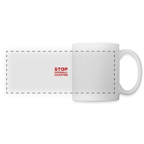 Stop Fussball Chaoten - Panoramatasse