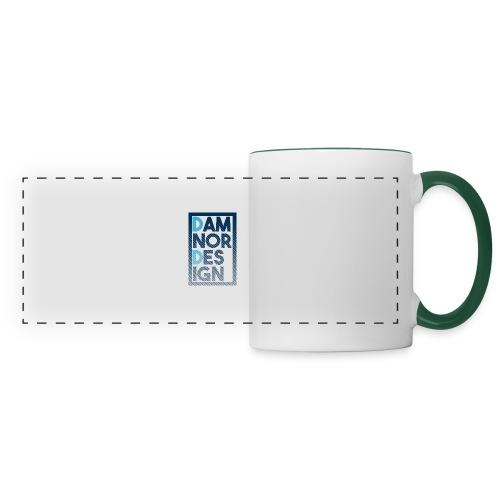 Damnor design (H) - Mug panoramique contrasté et blanc