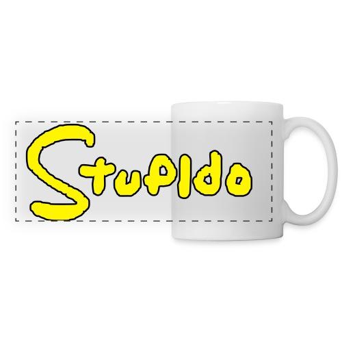 Stupido Logo / DAS Geschenk für Fans - Panoramatasse