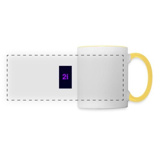 2i - Mug panoramique contrasté et blanc