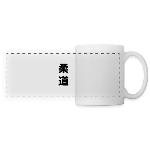 Judo - Mug panoramique contrasté et blanc