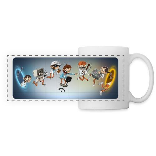 passion_porte_mug - Mug panoramique contrasté et blanc