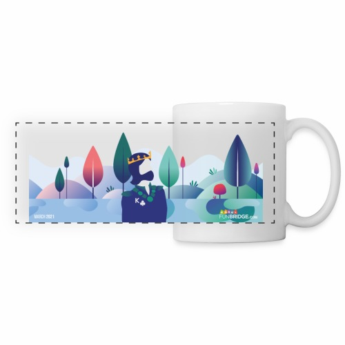 March Funbridge Collector's Mug - Mug panoramique contrasté et blanc
