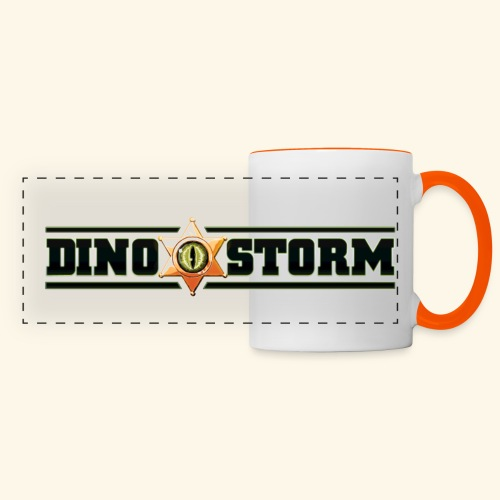 Dinostorm Logo New - Panoramic Mug