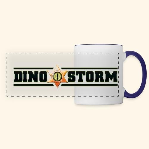 Dinostorm Logo New - Panoramic Mug