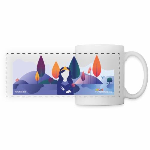 November Funbridge Collector's Mug - Mug panoramique contrasté et blanc