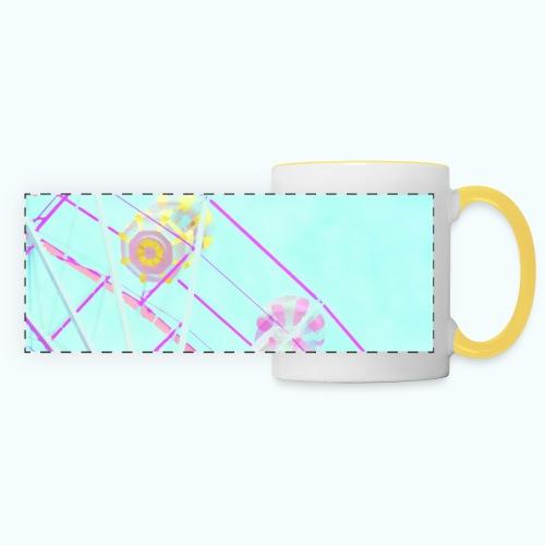 Fairy pastel watercolor - Panoramic Mug