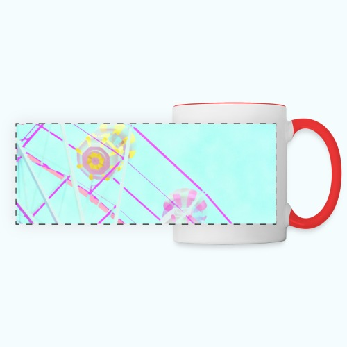 Fairy pastel watercolor - Panoramic Mug