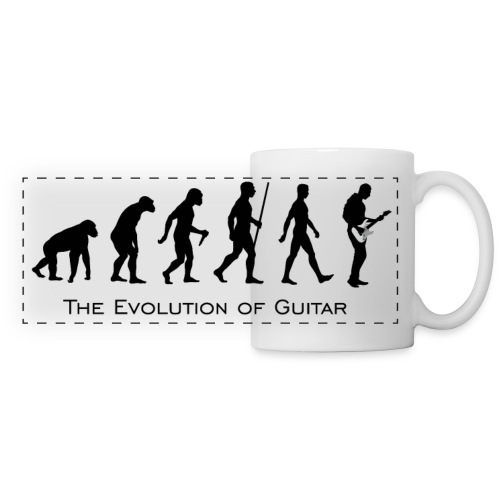 The Evolution Of Guitar - Taza panorámica