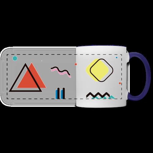 Abstract geometry - Panoramic Mug