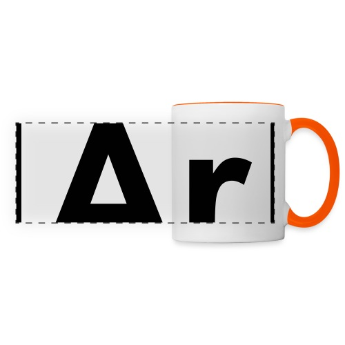 Argon (Ar) (element 18) - Panoramic Mug