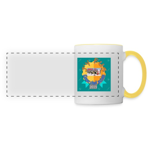 badge 2019 - Mug panoramique contrasté et blanc