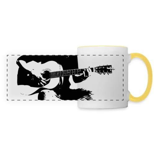 Cynthia Janes guitar BLACK - Panoramic Mug