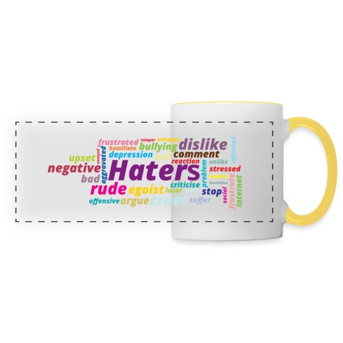 Haters - Taza panorámica