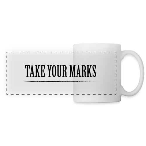 TAKE YOUR MARKS - Tazza con vista