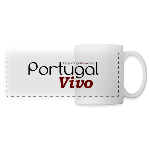 Portugal Vivo - Mug panoramique contrasté et blanc