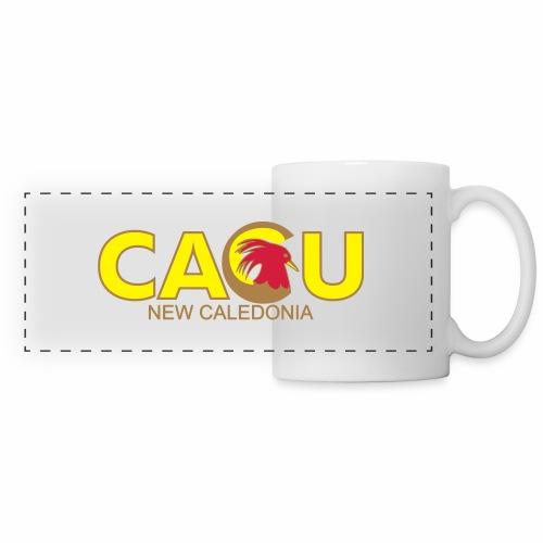 Cagu New Caldeonia - Mug panoramique contrasté et blanc