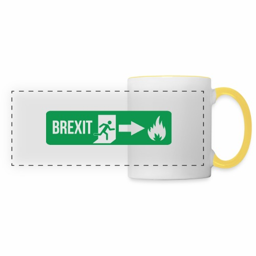 Fire Brexit - Panoramic Mug