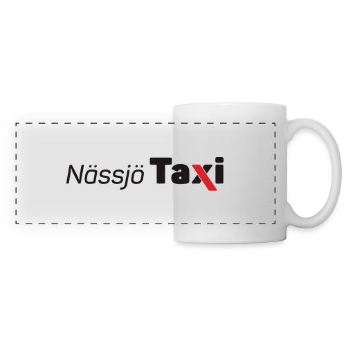 Nässjö taxi tryck - Panoramamugg