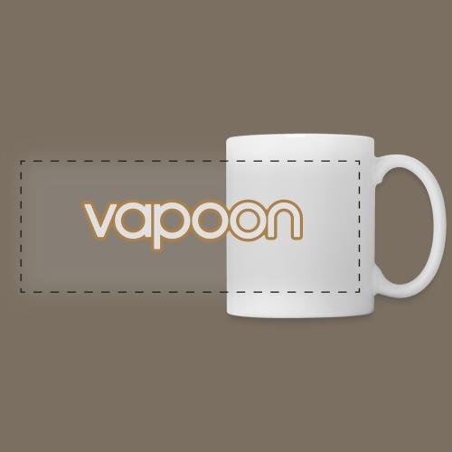Vapoon Logo simpel 2 Farb - Panoramatasse