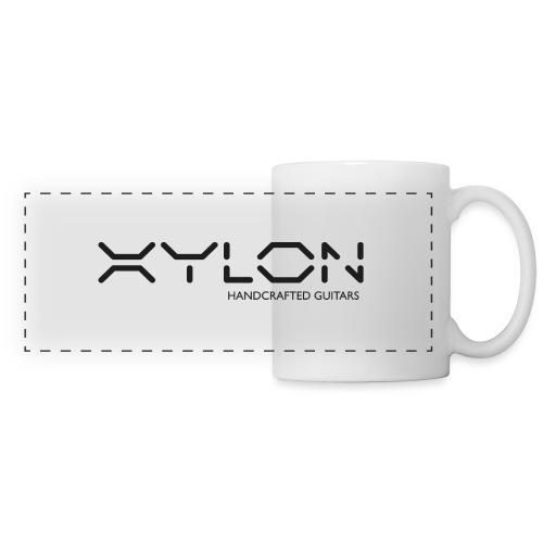 Xylon Handcrafted Guitars (plain logo in black) - Panoramic Mug