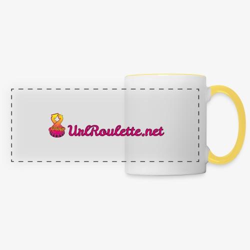 UrlRoulette Logo - Panoramic Mug