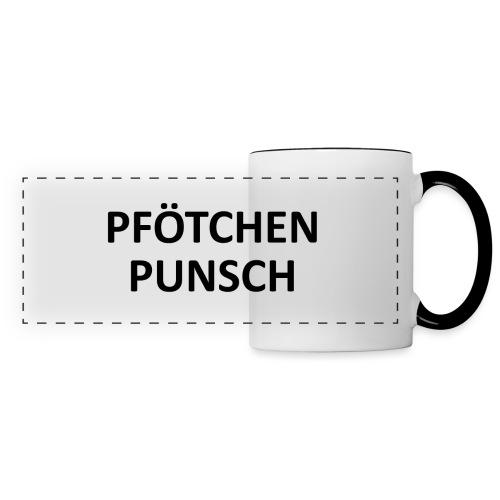 Pfötschenpunschhäferl - Panoramatasse