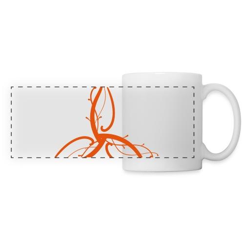 Triple Déesse Wicca - Mug panoramique contrasté et blanc