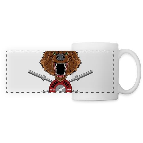 Bear Fury Crossfit - Mug panoramique contrasté et blanc