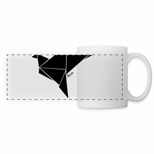 Origami - Mug panoramique contrasté et blanc